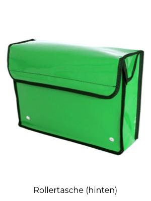Rollertasche Grün