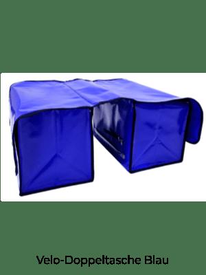 Velo-Doppeltasche Blau