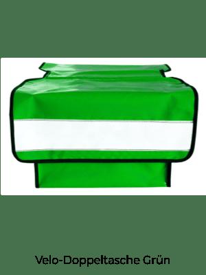 Velo-Doppeltasche Grün
